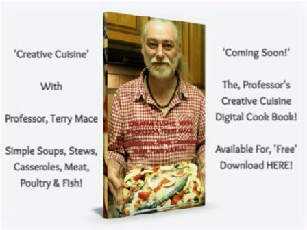 'Creative Cuisine' With, Professor, Terry Mace - The Black Dog Sound Machine