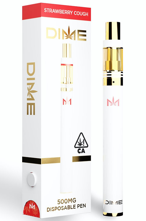 DIME 500mg Disposable- Strawberry Cough