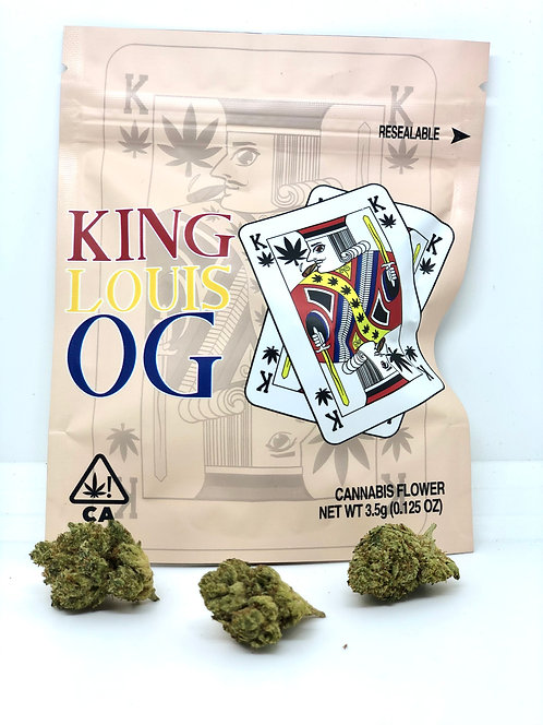 CannaKings - King Louis Og 3.5g- Indica
