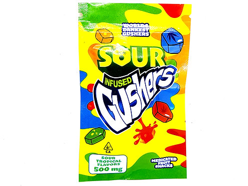 Sour Infused Gushers 500mg