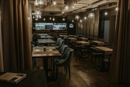 Restaurant main hall