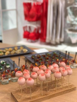 Store opening catering