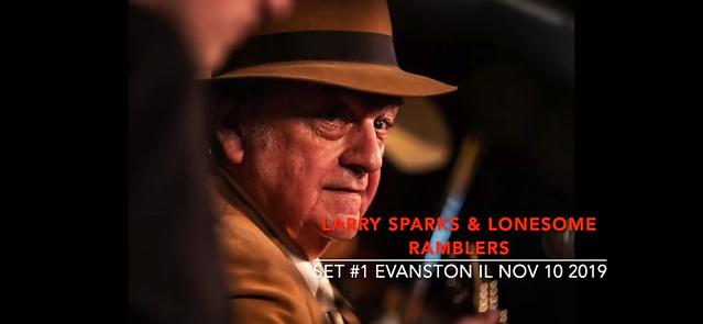 Larry Sparks - set 1 youtube