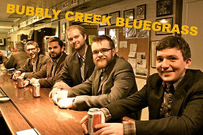 Bubbly Creek Bluegrass Band, Chicago, Weddings, Divorces, organic music