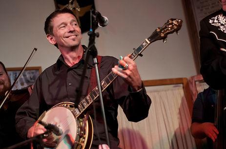 Elmer Burchett, banjoist, banjo player, bluegrass musician, Berea KY