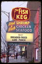 Fish Keg, Evanston, fried fish, Chicago
