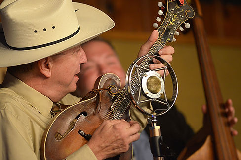 David Davis - mandolinist and bandleader of Warrior River Boys