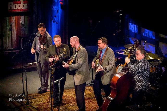 Joe Mullins Radio Ramblers live in Evanston Feb 24 2018 in concert