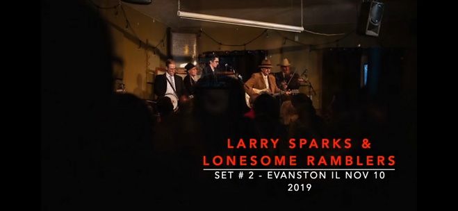 Larry Sparks - set 2 youtube