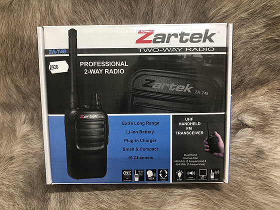Zartek Two Way Radio ZA-748