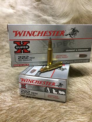 Winchester 222rem 50gr