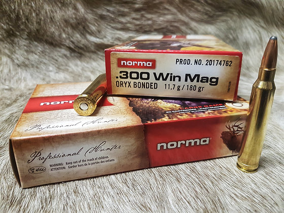 Norma Oryx .300 Win Mag 180gr