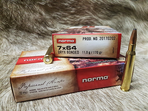 Norma Oryx 7x64 170gr