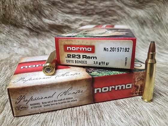 Norma Oryx .223 Rem 55gr