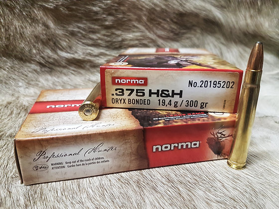 Norma Oryx 375 H&H 300gr