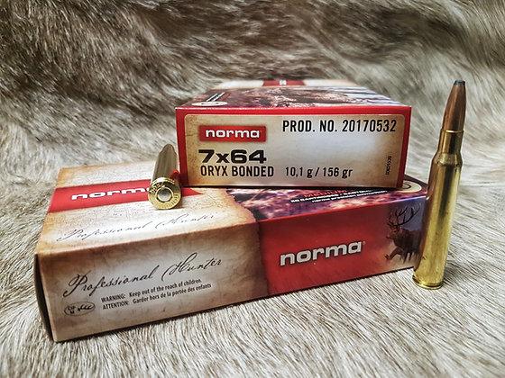 Norma Oryx 7x64 156gr