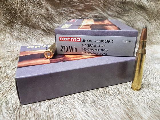 Norma Oryx .270 Win 150gr