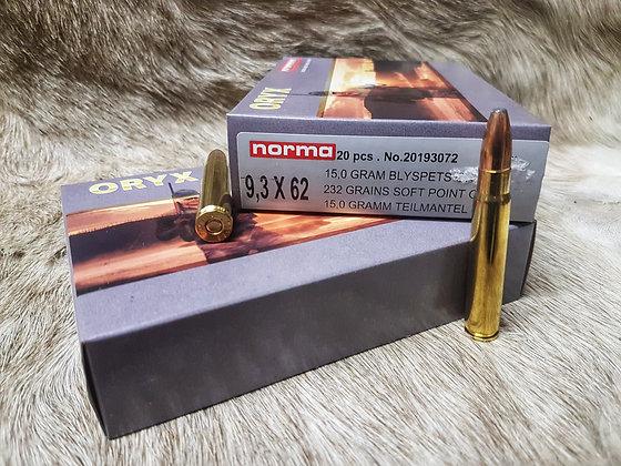 Norma Softpoint Oryx 9,3x62 232gr