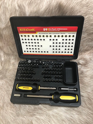 Tork Craft 89pce Gun Repair & Maintenance Screwdriver Set
