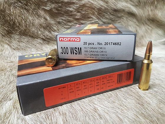 Norma Oryx .300 WSM 165gr