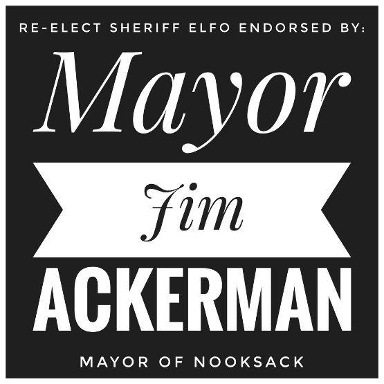 Endorsed by Mayor Jim Ackerman