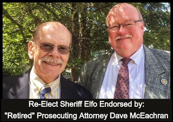 """Honored to be Endorsed by """"Retired"""" Prosecuting Attorney Dave McEachran"""