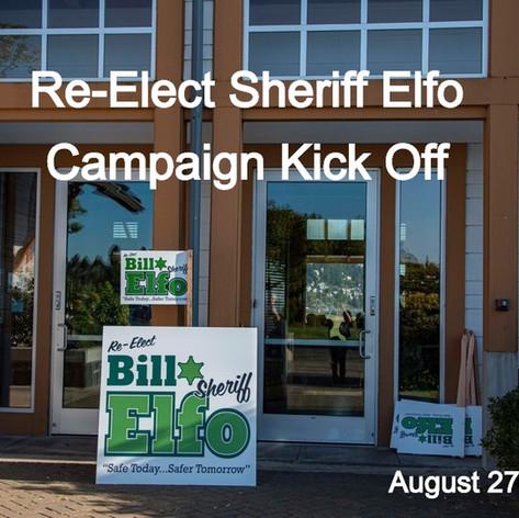 Re-Elect Sheriff Elfo Campaign Kick Off Photos