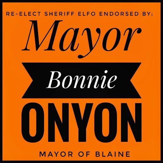 Endorsed by Mayor Bonnie Onyon