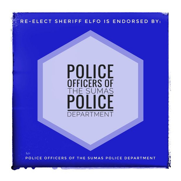 Endorsed by Officers of the Sumas Police Department