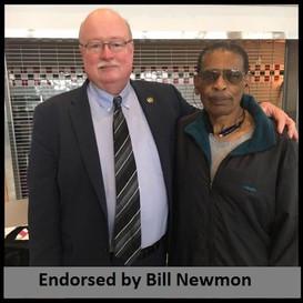Endorsed by Bill Newmon