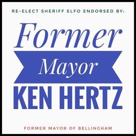 Endorsed by former Mayor Ken Hertz