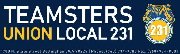 Endorsed by Teamsters Union Local 231 Endorsement