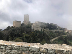 erice view of castle