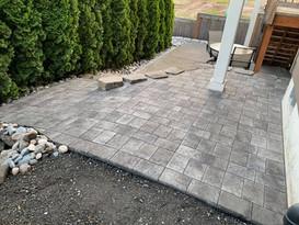 sloped paver add on