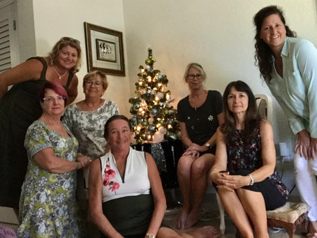 """""""Us Seven"""" discussed """"Us Three"""" by Ruth Jones - December Book Club (Christmas style!)"""