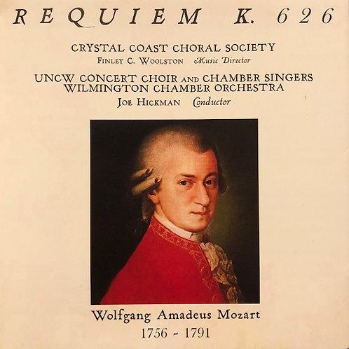 Mozart's Requiem 2009 CD
