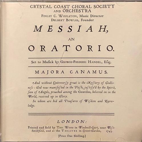 Handel's Messiah 2008 CD