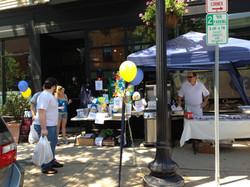 We even had vendors outside