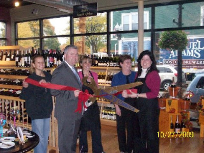 Melrose store ribbon cutting