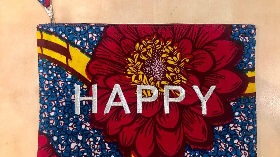 Pochette HAPPY Wax - rouge