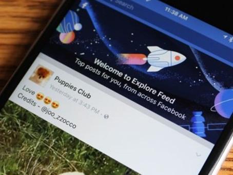 Facebook ganha segundo Feed com atualizações até de quem você não segue