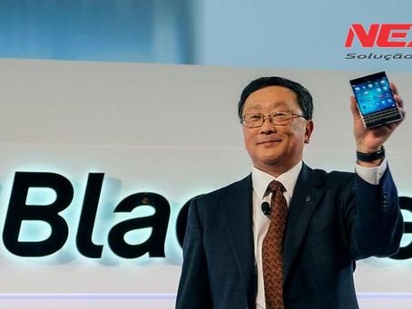 Ações da BlackBerry disparam após relatório fiscal positivo