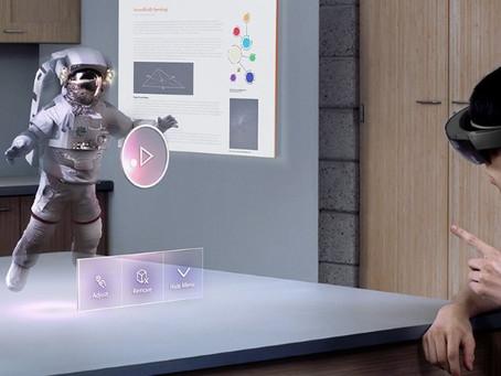A próxima geração do HoloLens só deve chegar em 2019