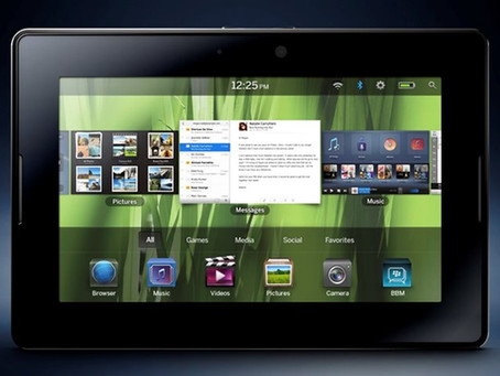 BlackBerry se prepara para lançar novo tablet, mas dessa vez com Android