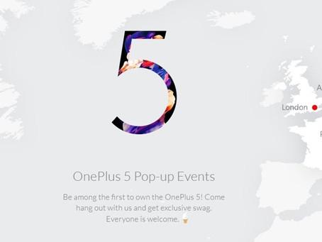 Falta pouco: lançamento do poderoso OnePlus 5 ganha data oficial