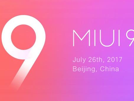 Prévia mostra as novidades da MIUI 9; confira