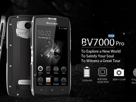 BV7000 Pro: um celular muito resistente e quase indestrutível [vídeo]