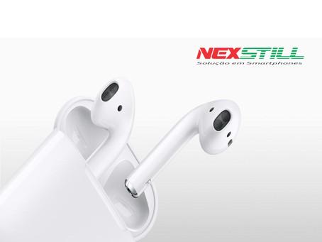 Como parear os fones AirPods da Apple com um celular Android