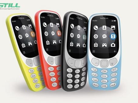 O Nokia 3310 vai ganhar nova versão com mais cores e suporte a rede 3G