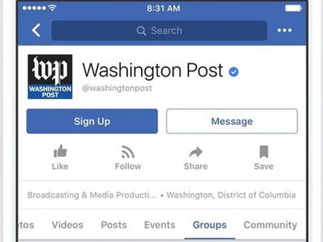 Facebook lança Groups for Pages, área para bate-papo dentro das páginas
